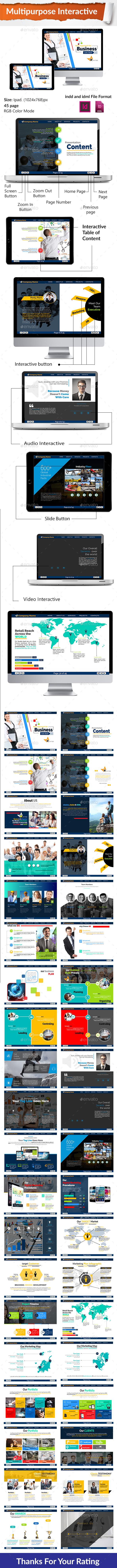 Multipurpose Interactive PDF - Digital Books ePublishing