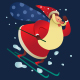 Santa Claus 4 in 1 - GraphicRiver Item for Sale