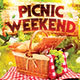 Picnic Weekend Flyer
