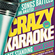 Karaoke Flyer Template V7 - GraphicRiver Item for Sale