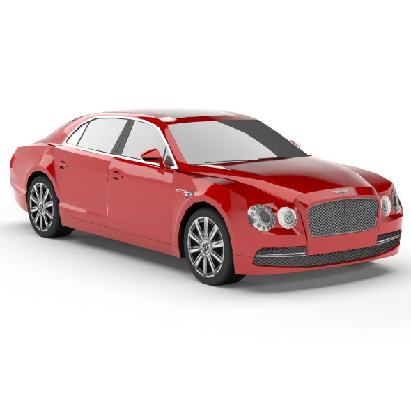 Bentley Continental Flying Spur (low poly) - 3DOcean Item for Sale