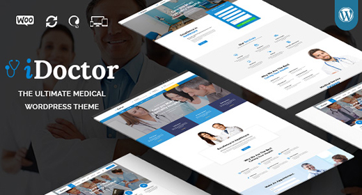 Medical & Health WordPress Theme