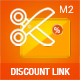 Discount Coupon Code Link Extension for Magento 2
