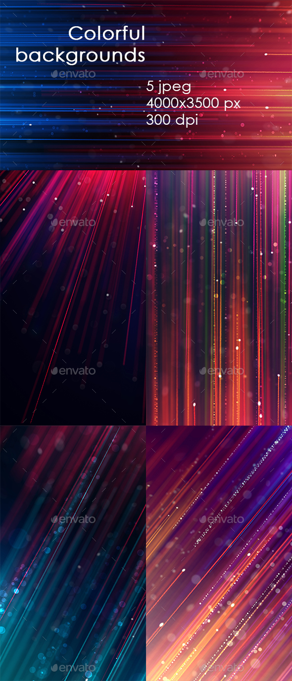 GraphicRiver Colorful Backgrounds 20617375