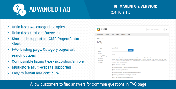 CodeCanyon Advanced FAQ Extension For Magento 2 20617392