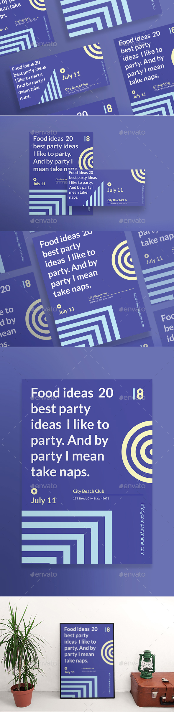 Hello Party Flyers - Clubs & Parties Events