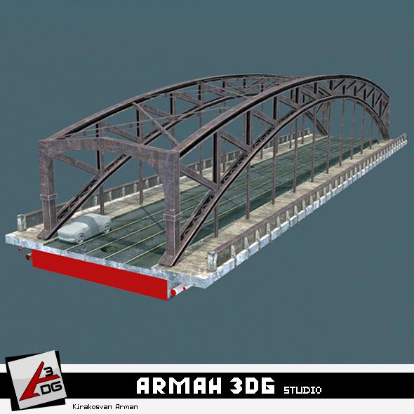 Bridge Muxranski - 3DOcean Item for Sale