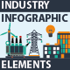 Industry Infographic Elements - GraphicRiver Item for Sale
