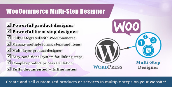 WooCommerce Multistep Form & Product Designer - CodeCanyon Item for Sale