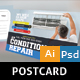 Air Conditioner PostCard - GraphicRiver Item for Sale
