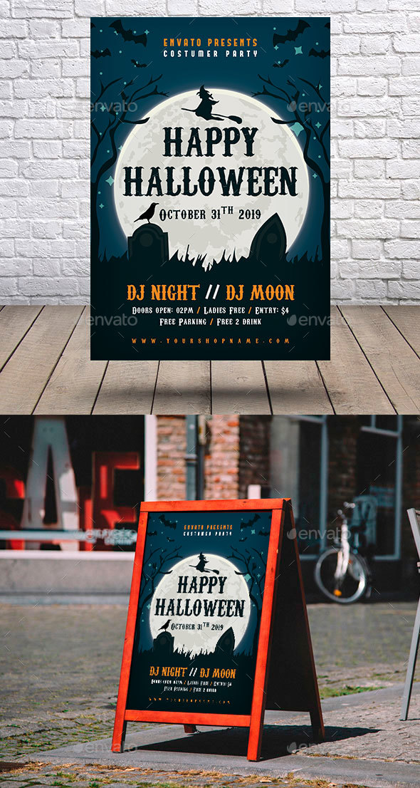 GraphicRiver Halloween Flyer 20617669