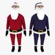 LowPoly Santa Claus 3D model