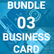 Bundle 3 in 1 Business Card - GraphicRiver Item for Sale