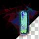 Digital Glitch Parchment Scroll