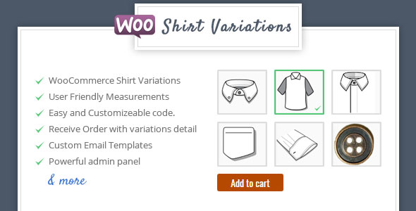 Shirt Designer - WooCommerce Plugin for Variations - CodeCanyon Item for Sale