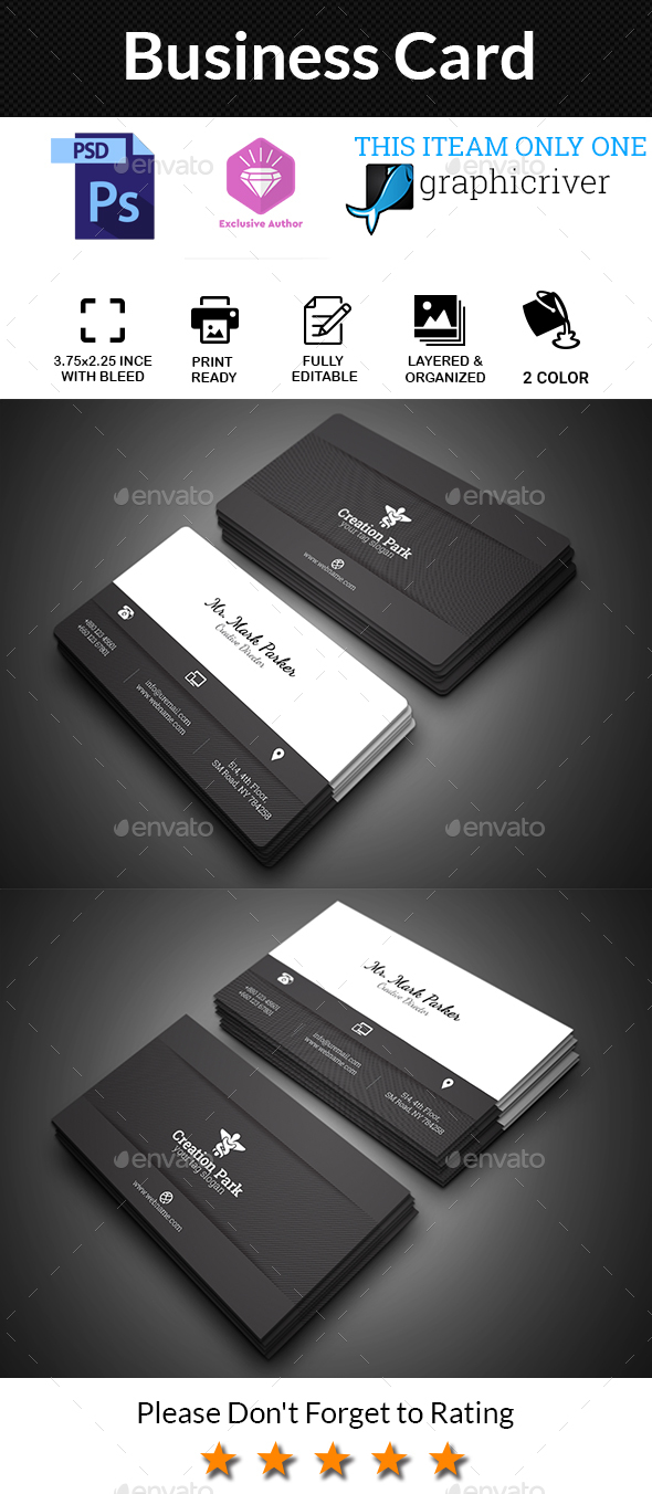 GraphicRiver Business Card 20617925