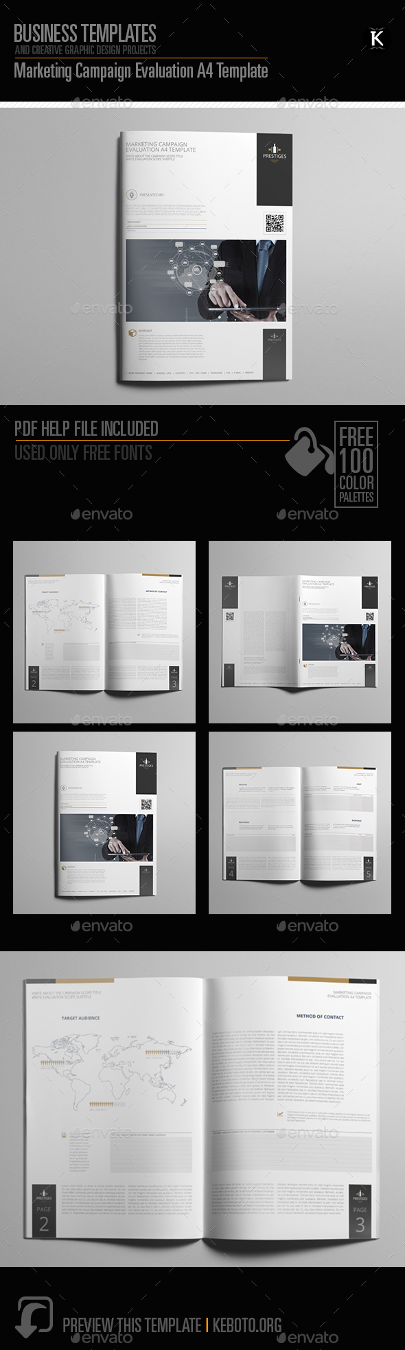 Marketing Campaign Evaluation A Template By Keboto GraphicRiver - Marketing campaign template