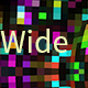 Widescreen Pattern with Color Squares - VideoHive Item for Sale