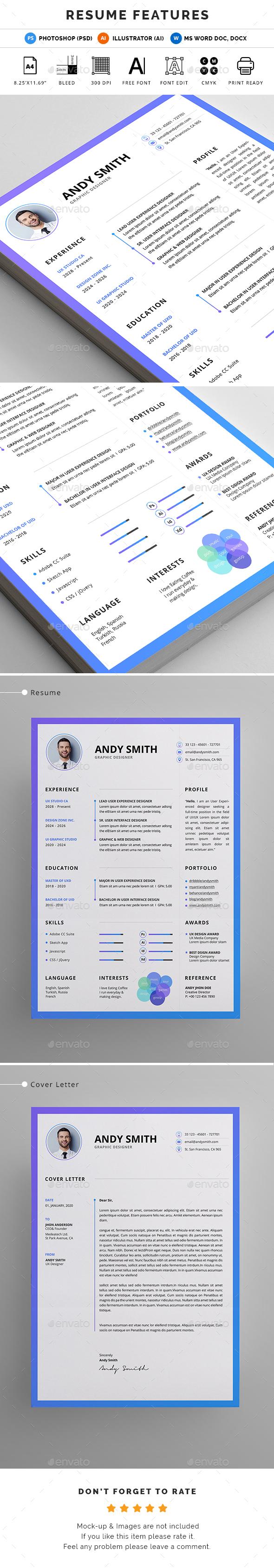 GraphicRiver Resume 20618112