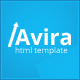 Avira - Responsive Multipurpose HTML Website Template - ThemeForest Item for Sale