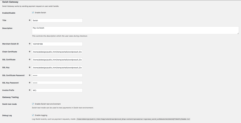Wooswish Swish Payment Gateway For Woocommerce By Designingmedia