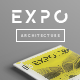 EXPO Invitation for Architecture Exhibition Poster / Flyer - GraphicRiver Item for Sale