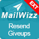 Resend Giveups for MailWizz EMA