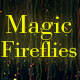 Magic Fireflies Background - VideoHive Item for Sale