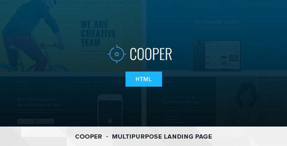 Cooper - HTML Responsive Template