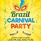 Brazil Carnival Party Flyer
