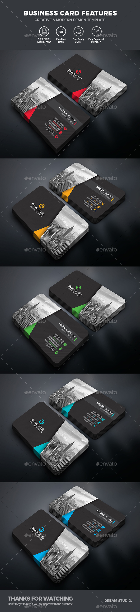 GraphicRiver Business Cards 20619692