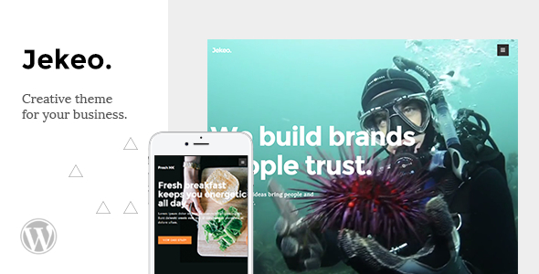 Jekeo - Creative WordPress Theme - Business Corporate