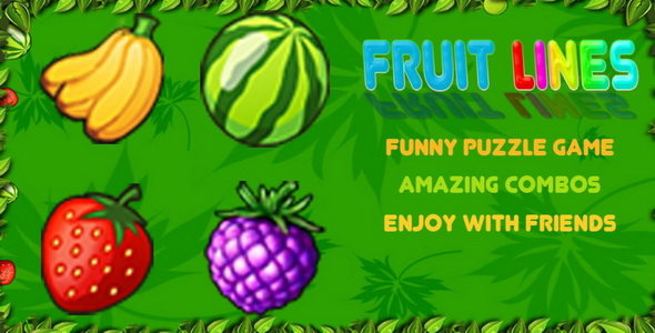 Fruit Lines - CodeCanyon Item for Sale
