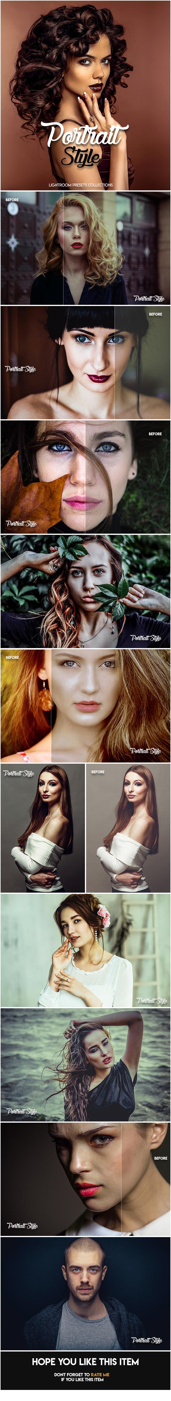 GraphicRiver Portrait Style LightRoom Preset 20620065