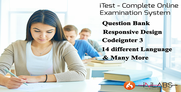 iTest - Complete Online Examination System - CodeCanyon Item for Sale
