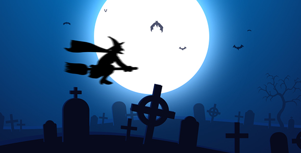 Halloween Theme Background 01 by sadfishing | VideoHive