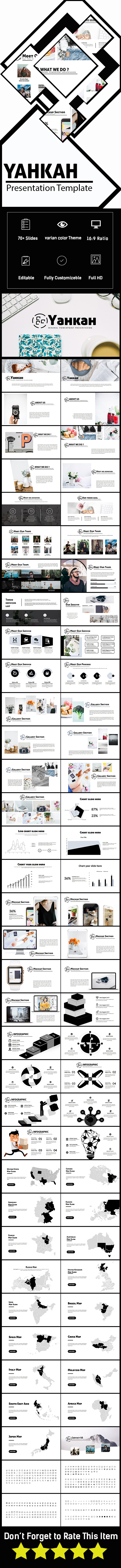 Yahkah Multipurpose Presentation - PowerPoint Templates Presentation Templates