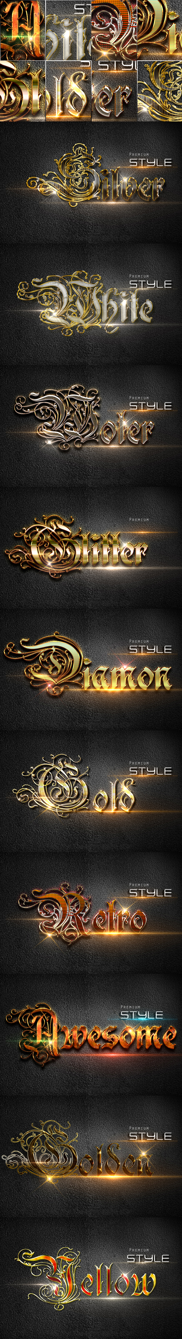 GraphicRiver 10 3D Text Styles D 26 20620530