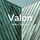 Valon Minimal Google Slide Template