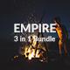 Empire Bundle - 3 in 1 Google Slide Template
