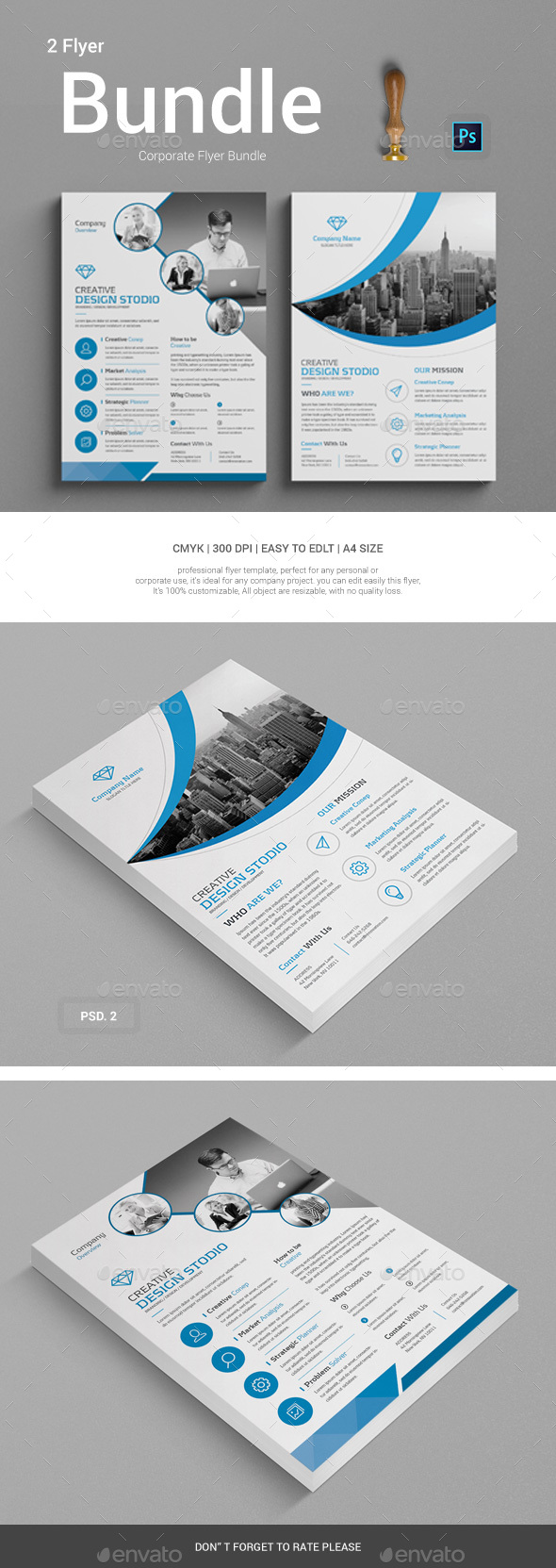 GraphicRiver Corporate Flyer Bundle 20621201