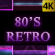 80s Retro Background Pack