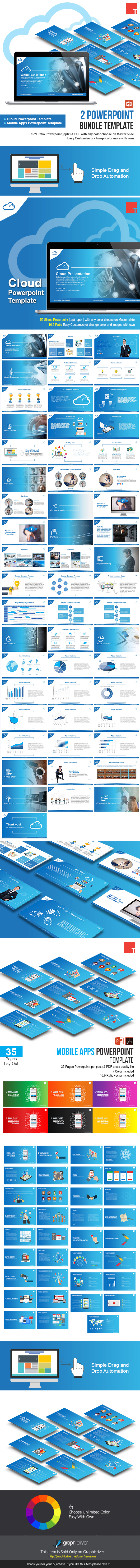 2 Powerpoint Bundle Template - Business PowerPoint Templates