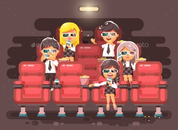 Vector Illustration Cartoon Characters Children - People Characters