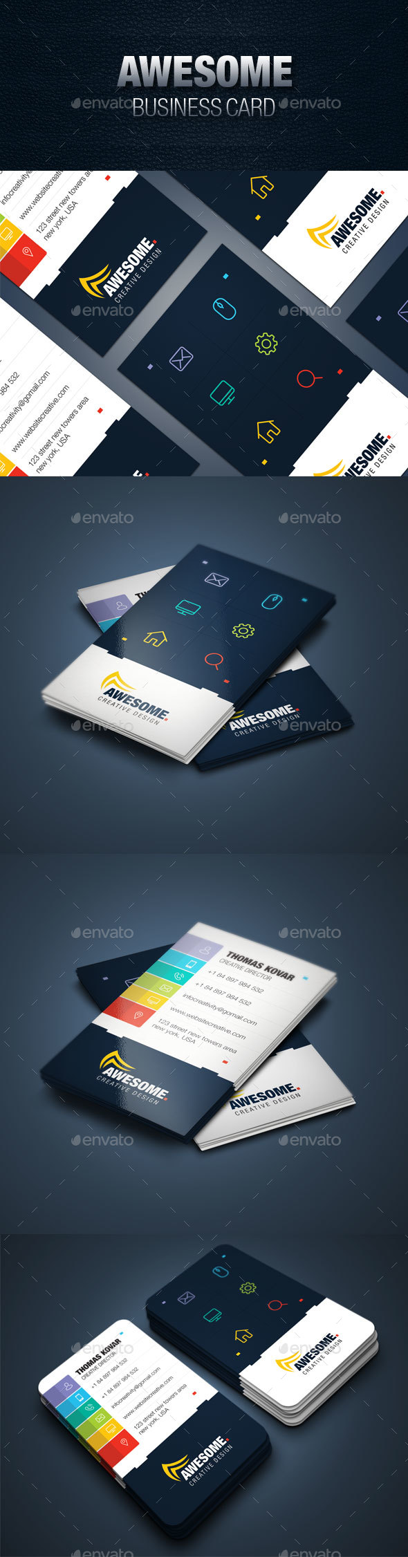 GraphicRiver Business Card 20621908