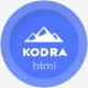 Kodra - Full Screen Portfolio HTML Template - ThemeForest Item for Sale