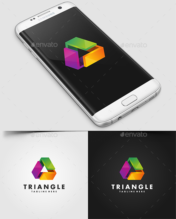 Triangle Logo Template - Logo Templates