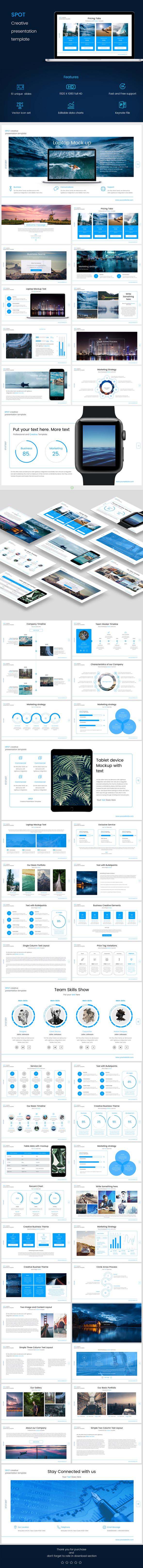 Spot PowerPoint - PowerPoint Templates Presentation Templates