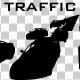 Car Traffic Silhouette