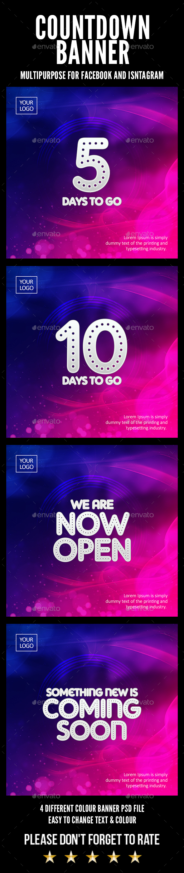 GraphicRiver Countdown Banner 20622803